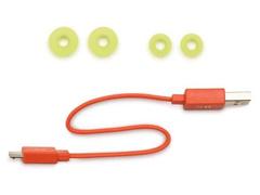 Fone de Ouvido Bluetooth Esportivo JBL Endurance Run Preto e Amarelo - 7