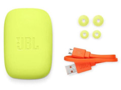 Fone de Ouvido Bluetooth JBL Endurance Jump Preto e Verde - 5
