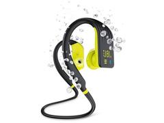 Fone de Ouvido Bluetooth JBL Endurance Dive Preto e Amarelo - 1