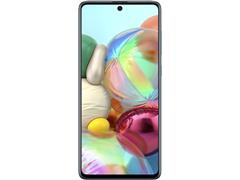 "Smartphone Samsung Galaxy A71 128GB 4G 6.7"" Quad Câm 64+12+5+5MP Azul - 1"