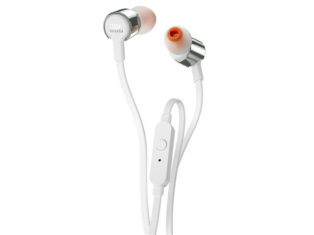 Fone De Ouvido JBL In-Ear Com Microfone Prata