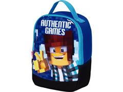 Lancheira Infantil Sestini Authentic Games com Alças Tam P Azul - 2