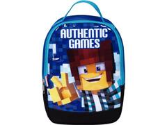 Lancheira Infantil Sestini Authentic Games com Alças Tam P Azul - 1