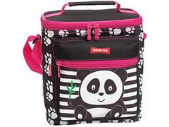 Lancheira Infantil Sestini Especial Kids Panda Rosa - 1