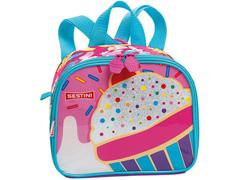 Lancheira Infantil Sestini Cupcake Tam P Colorida - 1