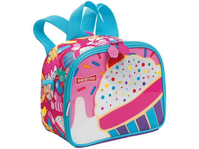 Lancheira Infantil Sestini Cupcake Tam P Colorida