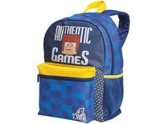 Mochila Infantil Sestini Authentic Games Tam G Colorida - 2