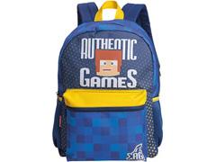 Mochila Infantil Sestini Authentic Games Tam G Colorida - 1