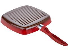 Jogo de Panela Brinox Antiaderente Ceramic Life Smart Vermelho 7 Peças - 5