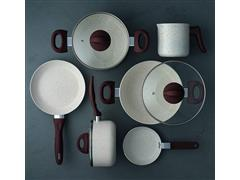 Jogo de Panelas Brinox Ceramic Life Smart Plus 6 Peças Vanilla - 4