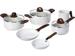 Jogo de Panelas Brinox Ceramic Life Smart Plus 6 Peças Vanilla - 1