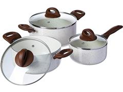 Jogo de Panelas Brinox Ceramic Life Smart Plus 6 Peças Vanilla - 2