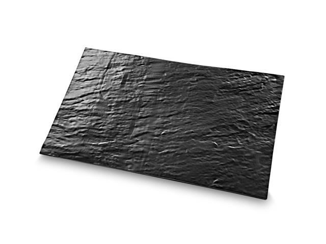 Tabua Retangular Brinox para Servir Stone Preto 52cm