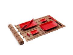Conjunto Comida Oriental Haus Nankin para 2 pessoas Vermelho 10 Peças