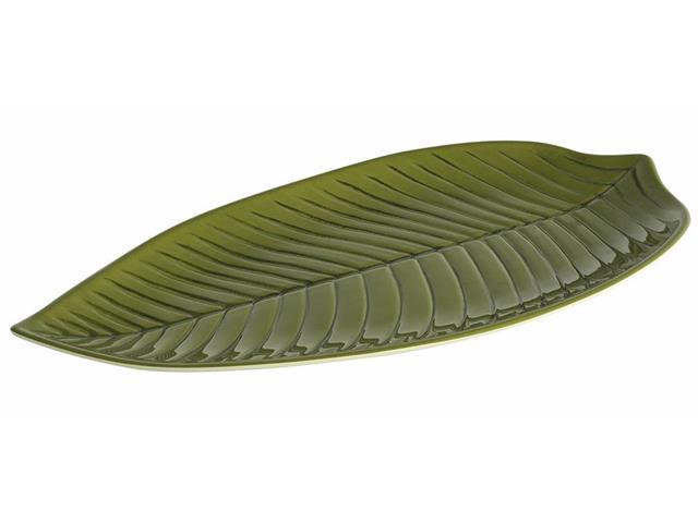 Travessa Plant Haus Longa Verde 45cm