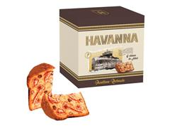Panettone Havanna Gotas de Chocolate Recheado de Doce de Leite 700g