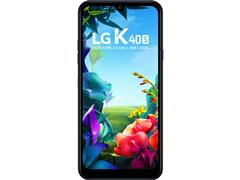 "Smartphone LG K40S IA 4G 32GB Duos Tela 6.1"" Câm 13MP+13MP+5MP Preto - 1"