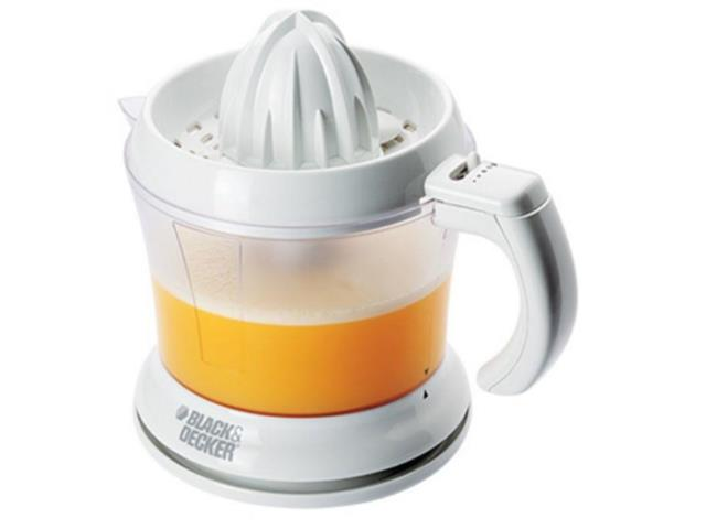 Espremedor de Frutas Black&Decker Branco