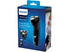 Barbeador Elétrico Philips Shaver 1100 Seco e Azul Adriático - 5