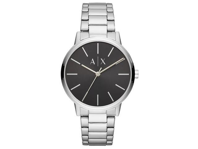 Relógio Armani Exchange Masculino Basic Prata AX2700/1KN