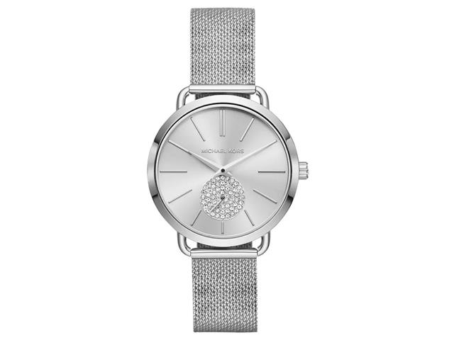 Relógio Michael Kors Feminino Essential Portia Prata MK3843/1KN
