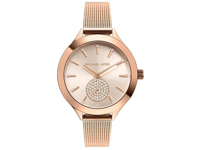 Relógio Michael Kors Feminino Slim Runway Rosé MK3921/1JN
