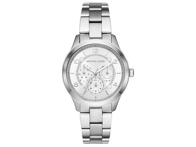 Relógio Michael Kors Feminino Runway Prata MK6587/1KN