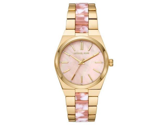 Relógio Michael Kors Feminino Dourado e Rosé MK6650/1DI