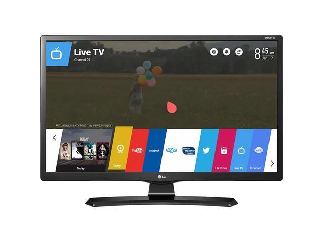 "Smart TV Monitor 24"" LG HDTV Con TV Digital 2 HDMI USB Wi-Fi WebOS 3.5"