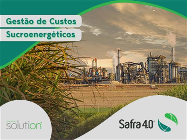 Gestão de custos sucroenergéticos - SAFRA 4.0