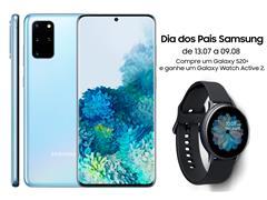 "Smartphone Samsung Galaxy S20+ 128GB 6.7"" 8GB RAM 64+12+12MP+ToF Azul - 0"