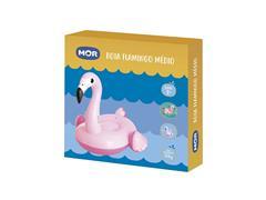 Boia Inflável Infantil para Piscina MOR Formato de Flamingo Médio - 1