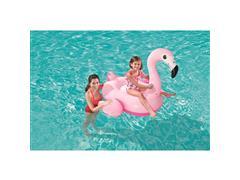 Boia Inflável Infantil para Piscina MOR Formato de Flamingo Médio - 2