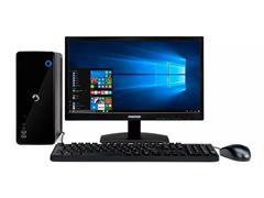 """Desktop Positivo Stilo Intel Dual-Core 4GB 500GB Win 10 Monitor 19,5"""""""