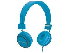 Fone de Ouvido Multilaser Headfun PH089 com Microfone P2 Azul