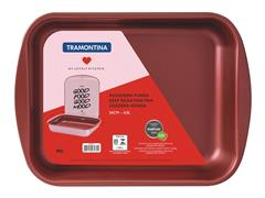 Assadeira Funda Tramontina My Lovely Kitchen Vermelho 4,9 Litros 34CM - 2