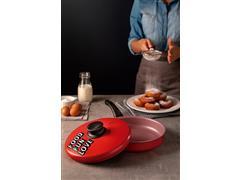 Frigideira Reta Tramontina My Lovely Kitchen Antiaderente Vermelho24CM - 2