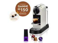 Cafeteira Nespresso Automática CitiZ D113 Kit Boas Vindas Branca