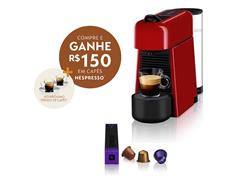Cafeteira Nespresso Automática Essenza Plus D45 Vermelha