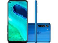 "Smartphone Motorola Moto G8 64GB Dual 6.4"" 4G Câm 16+8+2MP+Foco Azul"