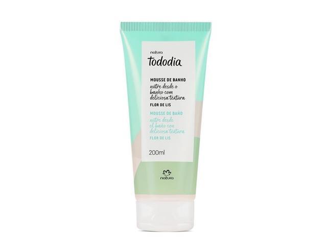 Mousse de Banho Desodorante Natura Tododia Flor de Lis 200ML