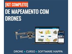 Drone DJI Mavic 2 Pro Software MAPPA proc. dados e análises agronômica - 5