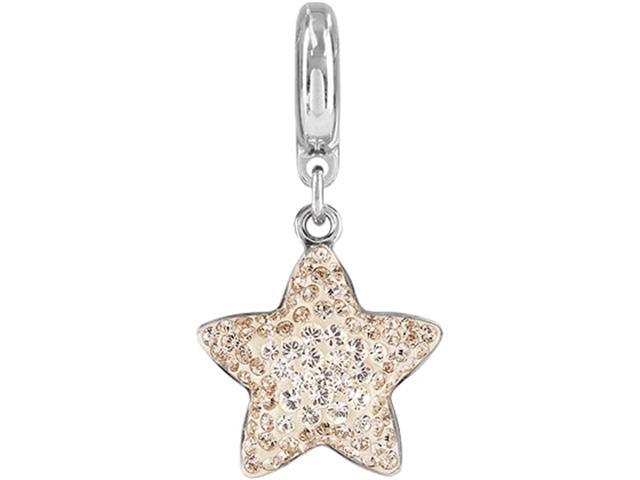 Becharmed Pingente Estrela Decorado com Cristais da Swarovski® Silk