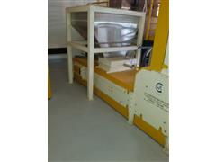 Caixa de entrada de Sementes Branca CWA TSI- CBT 100 1,50 x 1,50 m - 4