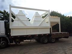 Caixa de entrada de Sementes Branca CWA TSI- CBT 100 1,50 x 1,50 m - 5
