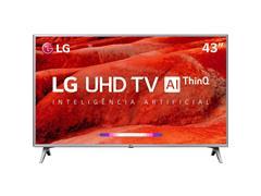 "Smart TV LED 43"" LG UHD 4K ThinQ AI TV HDR WebOS 4.5 Wi-Fi 4HDMI 2USB - 0"