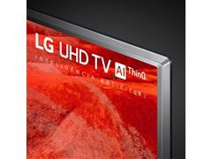 "Smart TV LED 43"" LG UHD 4K ThinQ AI TV HDR WebOS 4.5 Wi-Fi 4HDMI 2USB - 6"