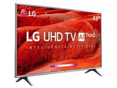 "Smart TV LED 43"" LG UHD 4K ThinQ AI TV HDR WebOS 4.5 Wi-Fi 4HDMI 2USB - 1"