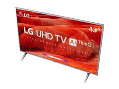 "Smart TV LED 43"" LG UHD 4K ThinQ AI TV HDR WebOS 4.5 Wi-Fi 4HDMI 2USB - 5"