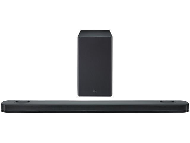 Soundbar LG 500W ThinQ AI 4.1.2 Canais Meridian Wi-Fi Bluetooth SL9YG